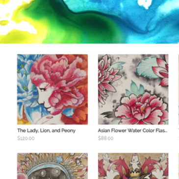 Adopt-A-Painting webstore now open on Storenvy